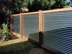Image result for fence panels with colour steel