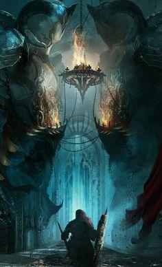 Fantasy illustration art