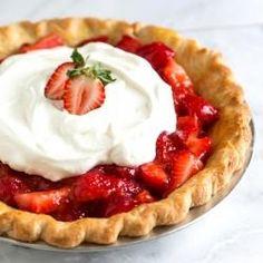 Simple Strawberry Pie
