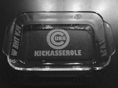 Chicago Cubs Kickasserole by IslandGraphics on Etsy