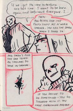 The one from under the cardboard — Continuation here: gaster!sans original…