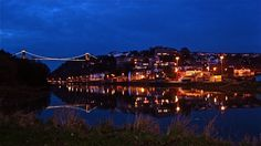 Brizzle at night