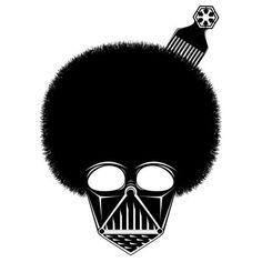 afro-vader  by thaeger    http://www.facebook.com/thaegersblog