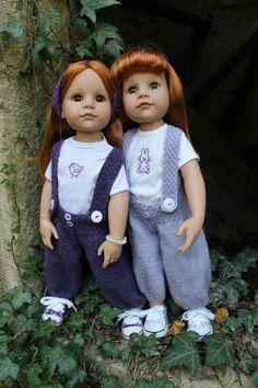 Tuto pantalon bouffant pour poupée Gotz Hannah