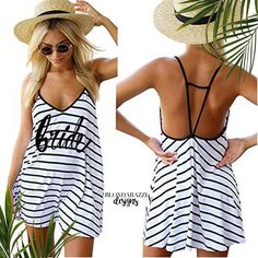Bride Beach Tank Top Swimsuit Coverup for the honeymoon or bachelorette party $29.99