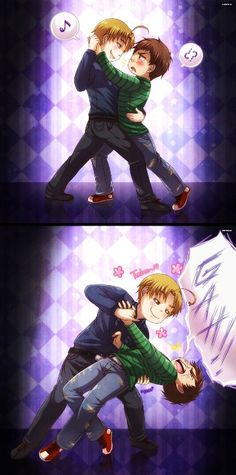 + Full View plz ~ Bailando Tango = Dancing Tango This is for the Winter Event in Latin Hetalia, for Cydalima Argentina(the blonde guy) is teaching North. Latin Hetalia, Hetaoni, Tango Dance, Hetalia Axis Powers, Blonde Guys, Canada, Latin America, North America, Anime Guys