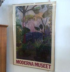 #Vintage #HenriMatisse #Gallery #Exibition #Poster  from #ModernaMuseet #Stockholm . Info www.RocketCentury.com