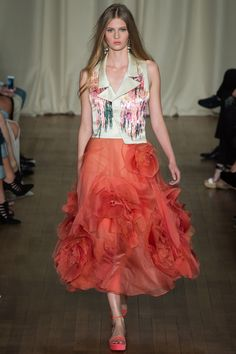 Marchesa - Spring/Summer 2015 RTW Collection