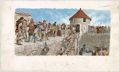 Illustration originale - Pierre Joubert