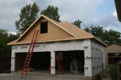 Best How To Attach A Detached Garage To A House Roof Google 400 x 300