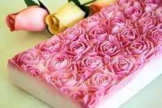 Rose silicone mold Silicone soap mold Fondant by SymphonyCraftHome