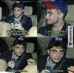 60 Ideas Memes Harry Potter Brasileiros For 2019 Harry Potter Tumblr, Memes Do Harry Potter, Harry Potter Jk Rowling, Harry Potter Love, Hogwarts, 4 Panel Life, Harry Potter Wallpaper, Star Wars, New Memes