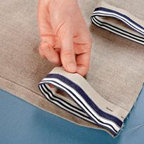 Glorious Make Rod Pocket Curtains Ideas. Enchanting Make Rod Pocket Curtains Ideas. No Sew Curtains, How To Make Curtains, Rod Pocket Curtains, Easy Sewing Projects, Sewing Hacks, Rideaux Design, Curtain Designs, Sewing Rooms, Kitchen Curtains
