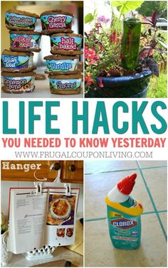Life Hacks You Needed to Know Yesterday Life Hacks, Frozen Waffles, Baking Tips, Baking Hacks, Eating Plans, Food Items, Cleaning Hacks, Cleaning Solutions, Frugal
