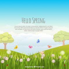 Pow Wow, Chinese Firecrackers, Landscape Background, Spring Landscape, Backgrounds Free, Hello Spring, Lorem Ipsum, Vector Free, Photo Galleries