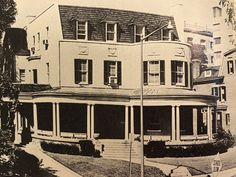 "Here is a 1940s picture of the ""Vichy"" French embassy on Wyoming Street before the mission staff was sent by the US government to be intered at The Hershey Hotel in Hershey, PA.  There was one member, however, whose life story I was chasing down--and found it!"