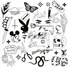 Playboy Bunny – Tattoo Ideas – # Playboy Bunny … – Graffiti World Kritzelei Tattoo, Doodle Tattoo, Poke Tattoo, Doodle Art, Tiny Tattoo, Luck Tattoo, Tattoo Fonts, Temporary Tattoo, Tattoo Quotes
