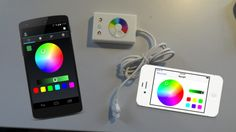 Wi-Fi DIODER: Light controls on your smartphone