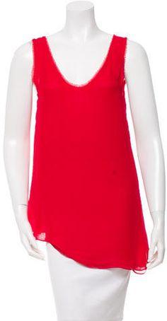 Helmut Lang Asymmetrical Sleeveless Top Helmut Lang, Basic Tank Top, Tank Tops, Stylish, Clothing, Women, Fashion, Outfit, Halter Tops