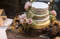 Rustic Wedding Cake / Cheese Wheel Cake / Andrew & Tegan's French Country Wedding