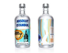 Absolut Istanbul. Great, colorful graphics.