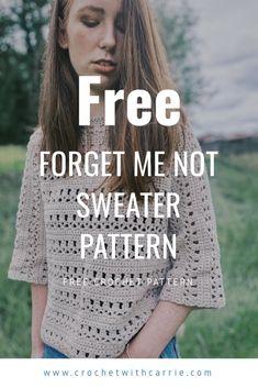 One Skein Crochet, Crochet Wool, Crochet Cardigan Pattern, Free Crochet, Crochet For Kids, Single Crochet, Crochet Patterns, Bolero Crochet, Sweater Patterns