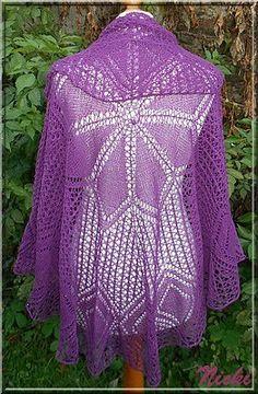 Serenade I Nicki's Kreativseite Nach einer Anleitung von Birgit Freyer Knitting, Tutorials, Breien, Tricot, Stricken, Weaving, Knits, Crocheting, Yarns