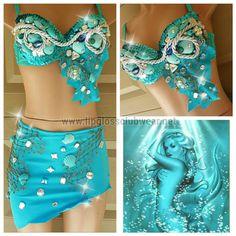 Meer Meerjungfrau inspirieren begeisterte Top & von LipglossWear