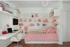 Quarto #Teenagegirlbedrooms