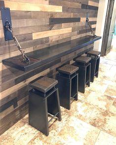 Basement Renovations Tips - My Romodel Cafe Interior Design, Cafe Design, House Design, Deco Restaurant, Restaurant Design, Diy Furniture, Furniture Design, Game Room Furniture, Steel Furniture