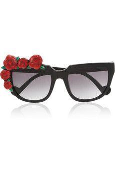 31c3b24ae6 Anna-Karin Karlsson - Rose Rouge cat eye acetate sunglasses