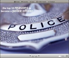 Slideshow- 10 Reasons to Become a Police Officer