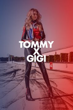 bd4511f313 Tommy's love of motorsports meets Gigi's modern style: Think moto jackets,  racing stripes, athleisure and. Tommy Hilfiger