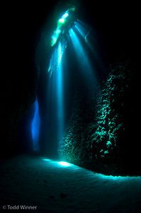 Underwater looks like ariels grotto
