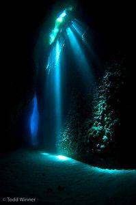 Underwater looks like ariels grotto