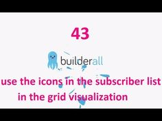 Builderall Tutorial 43 - How to use the icons in the subscriber list in the grid visualization Make Money Online, How To Make Money, How To Get, Marketing Tools, Digital Marketing, Being Used, Online Business, Grid, Platform