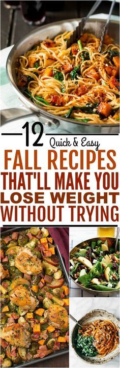 fall recipes These 12 Autumn Themed Recipes Will Help You Lose/Maintain Your Weight This Holiday Season For Sure! Who says we have to eat unhealthily to enjoy a tasty comfort food I am seriously obsessed as I love pumpkin and nuts. Hope you guys enjoy! Seafood Recipes, Diet Recipes, Cooking Recipes, Healthy Recipes, Autumn Recipes Vegetarian, Recipies, Vegetarian Meals, Healthy Cooking, Healthy Eating