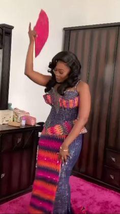 African Dresses For Kids, Latest African Fashion Dresses, African Dresses For Women, African Attire, Kente Dress, Ankara Dress Styles, African Fashion Traditional, African Print Dress Designs, Dresses Short