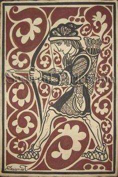 socarrat arquero medieval