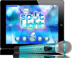 Pin for Later: The Best Gifts For Kids Under 10 Years Old For 8-Year-Olds: Disney Spotlight Digital Wireless Mic + Karaoke App