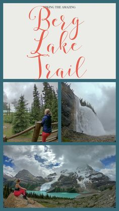 Exploring the amazing Berg Lake Trail in British Columbia. One of Canada's greatest hikes! Travel And Tourism, Travel Usa, Columbia Outdoor, Canadian Travel, National Parks Usa, Best Hikes, Hiking Trails, British Columbia, Places To Travel