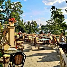 Have you ever done a tour of the #summer #terraces in #Helsinki? We highly recommend it today! Great #views, tasty #treats - what's better than that? Photo: @detailsofhelsinki #foodhelyeah ☕ #hungryforfinland #feelhelsinki #ddhelsinki