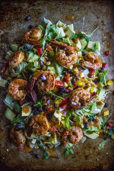 Southwestern Chipotle Shrimp Salad