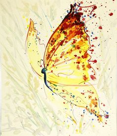 Watercolour paintings – Butterfly painting, original watercolour painting – a unique product by Radikacolours on DaWanda