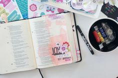 Illustrated Faith Bible Journaling Starter Kit | Bible Journaling by Jamie Pate