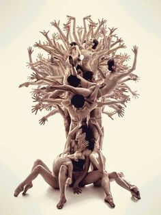 The tree of life photo by Roman Shatsky.Sakartvelo ballet Dance your soul by Catherine LA Rosa Human Tree, Foto Poster, Dance Movement, Dance Poses, Dance Pictures, Dance Photography, Travel Photography, Conceptual Photography, People Photography