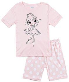 Amazon.com  IF Pajamas Girls Little Kid Sleepwears Set 100% Cotton PJS  Clothes Size 12M-12Y  Clothing bcc731e32