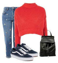 """Love"" by raventailor on Polyvore featuring Topshop and Vans"