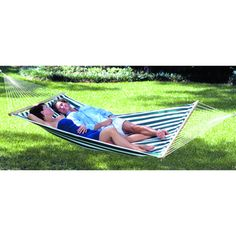 @Overstock - Enhance your relaxation with a Texsport Lakeway hammock  Camp furniture features durable quilted cotton with comfortable padding   Camp furniture features hardwood spreaders bars and sturdy welded suspension ringshttp://www.overstock.com/Sports-Toys/Texsport-Lakeway-Hammock/4412989/product.html?CID=214117 $59.86