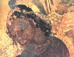 Indian Heritage - Painting - Ajanta Cave paintings